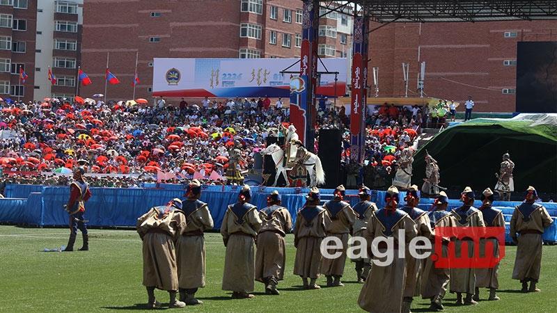 Фото: открытие Национального фестиваля